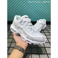 HCXX A062 Nike Air Max 95 OG Just Do It Causal Running Shoes White