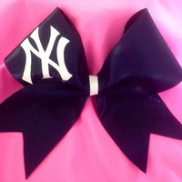 Cheer bow New York Yankees