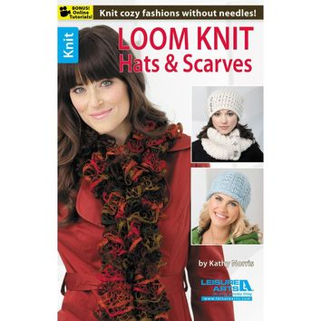 Leisure Arts-Loom Knit Hats & Scarves