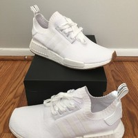 Adidas NMD R1 Gum Pack White Size 9
