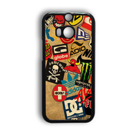 Skateboard Dc Vans Globe Adidas HTC One M9 Case