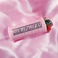 Medicated Pastel Bic Lighter Case