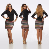 Trendy Casual Pencil Sheath Dress