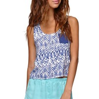 LA Hearts Cropped Pocket Racerback Tank - Womens Shirts