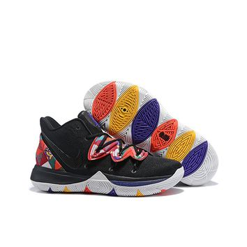 "Nike Kyrie 5 ""Black Multi"" Women Shoes Kid Sports Shoes - Best Deal Online"