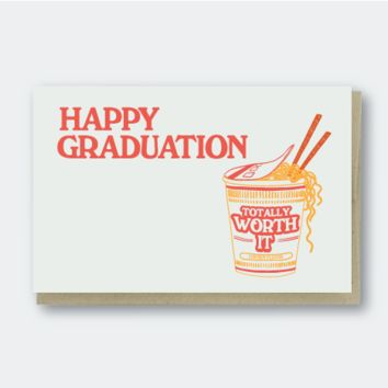 Grad Worth It Ramen Single Card