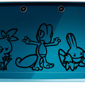 3rd Generation Pokemon Starters 3DS/3DS XL or Laptop Sized Decals Choose From Torchic, Treecko, or Mudkip
