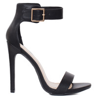 Queenie Heels - Black