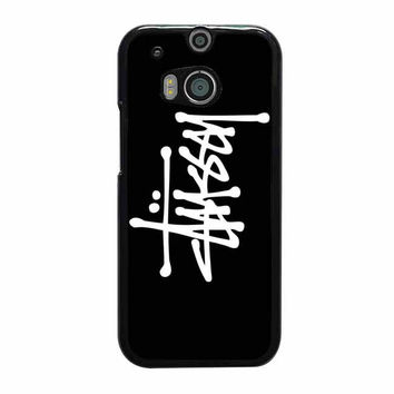 stussy white htc one cases m8 m9 xperia ipod touch nexus
