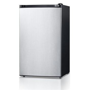 4.4cf Compact Refrigerator Ss