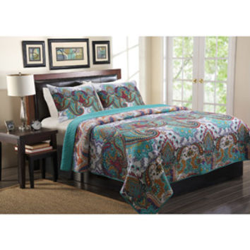 Walmart: Global Trends Nova Quilt Bedding Set