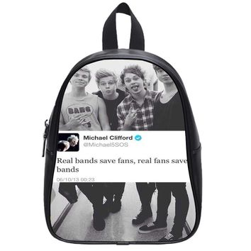 Michael  Real Save Fans 5 Sos School Backpack Large