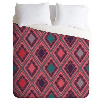 Vy La Eastern Diamond Duvet Cover