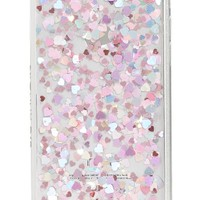 Skinnydip Heart Sequin iPhone Case (6/7 & 6/7 Plus) | Nordstrom