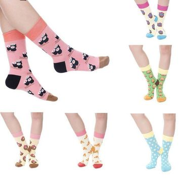 Sushi, Egg, Cupcakes, Burger, Pizza, Donuts Socks Funny Crazy Cool Novelty