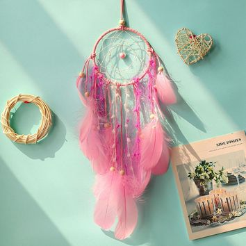 Dreamcatcher Indian Style Feather Pendant