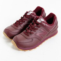 New Balance 574 Leather Gumsole Sneaker