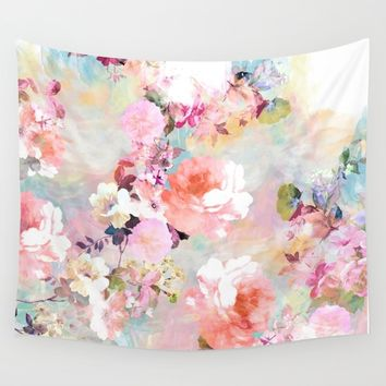 Love of a Flower Tote Bag by Girly Trend