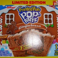 Gingerbread Pop Tarts Limited Edition Two Pack of Twelve Each