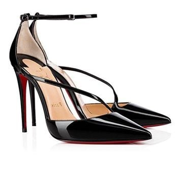 christian.louboutin New Fashion High-Heeled Sandals 120 mm