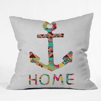 Bianca Green You Make Me Home Outdoor Throw Pillow