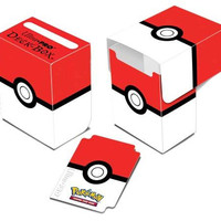 Pokemon Red and White Deck Box