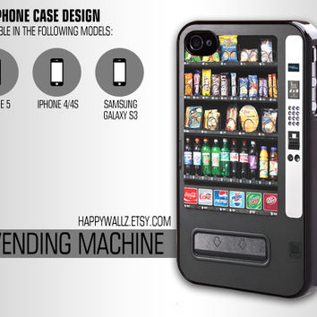 Vending Machine Iphone Case Iphone 4 case Hip Hipster Funny Iphone 5 case Iphone 4s case Samsung Galaxy S3 Case