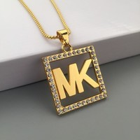 New Arrival Shiny Jewelry Gift Stylish Hot Sale Fashion Hip-hop Club Necklace [6542769027]