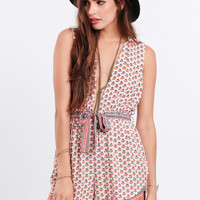 White Sand Playsuit By Faithfull The Brand