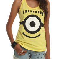 Despicable Me 2 Carl Face Girls Tank Top