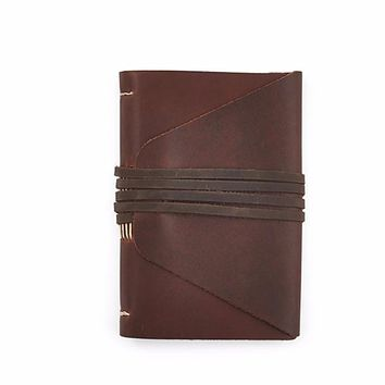 Messenger Leather Journal