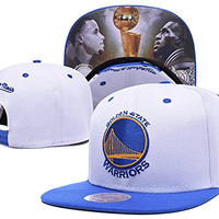 Unisex NBA Team Golden State Warriors Curry Baseball Caps Hip Hop Hats Snapback Caps (10#)