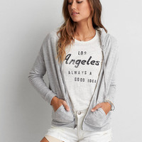AEO SOFT & SEXY TERRY HOODIE