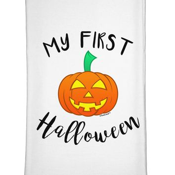 My First Halloween Flour Sack Dish Towel by TooLoud