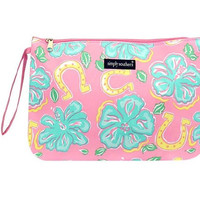 """Simply Southern """"Hibiscus"""" Brush Bag"""
