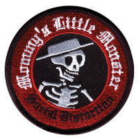 Social Distortion Men's Embroidered Patch Multi