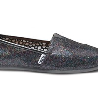 Toms Shoes Multi Glitter Classic Womens Shoes at 7TWENTY Boardshop, Inc