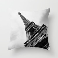 Paris 5 Throw Pillow by Mareike Böhmer Photography