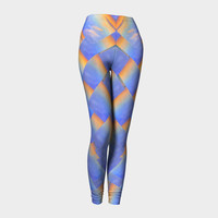 Sky Cross Weave Leggings