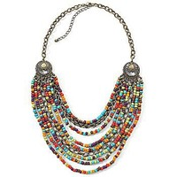 Decree?- Multi Strand Bead Necklace