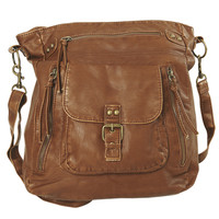 Double Zipper Crossbody Bag | Shop Accessories at Wet Seal