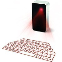 Wireless LED Laser Projection Bluetooth Virtual Keyboard for Iphone, Ipad, Smartphone and Tablets