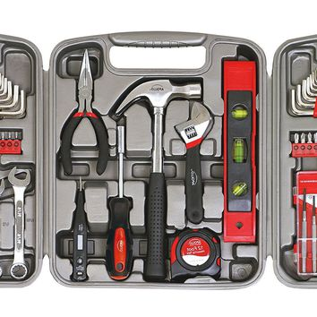 53 Piece Household Tool Set Wrenches Precision Screwdriver Hand Tools Storage