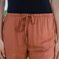 Off the Road Shorts - Rust