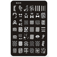 Nail Art Stamp Stamping Image Template Plate MLS Series