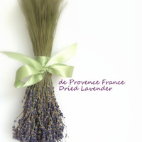 Dried Lavender/de Provence France/Barn Rustic Wedding Decor
