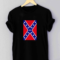 "Rubber Confederate Rebel Flag - T Shirt for man shirt, woman shirt ""NP"""