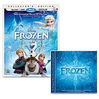 Frozen Movie and Music Collection