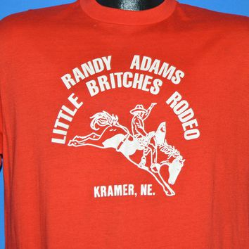 80s Randy Adams Little Britches Rodeo t-shirt Large
