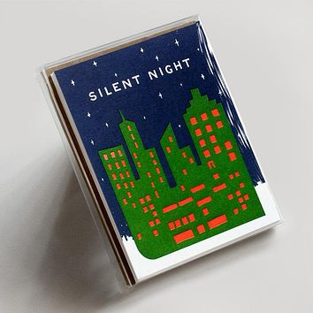 Silent Night Cityscape Boxed Set